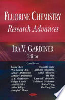 Fluorine Chemistry Research Advances