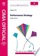 CIMA Official Exam Practice Kit P3 - Performance Strategy