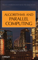 Algorithms and Parallel Computing Pdf