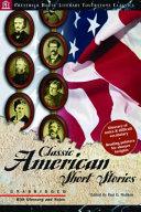 Pdf Classic American Short Stories - Literary Touchstone Classic