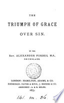 The triumph of grace over sin