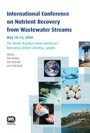 International Conference on Nutrient Recovery from Wastewater Streams