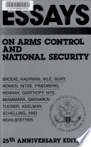 Essays on Arms Control and National Security