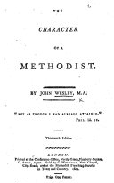 The Character of a Methodist ... The twelfth edition. (The Principles of a Methodist.)