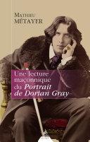 Pdf Une lecture maçonnique du Portrait de Dorian Gray Telecharger