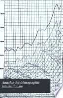 Annales des démographie internationale