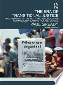 The Era of Transitional Justice