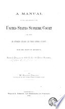 A Manual of the Cases Decided in the United States Supreme Court Book