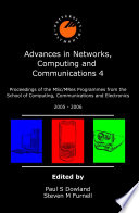 Advances in Networks  Computing and Communications 4 Book