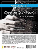Access Card for Grasping God s Word Interactive Workbook Book PDF