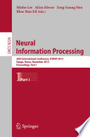 Neural Information Processing Book