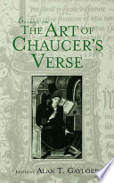 Essays on the Art of Chaucer s Verse