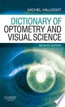 Dictionary of Optometry and Visual Science E-Book