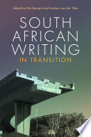 South African Writing In Transition Book PDF