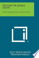 History of Joseph Smith