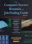 Computer Science Resumes and Job-finding Guide
