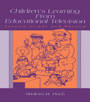 Children's Learning From Educational Television [Pdf/ePub] eBook