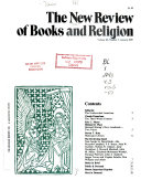 The New Review of Books and Religion