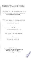 Fire Insurance Cases: 1840-1848 Pdf/ePub eBook