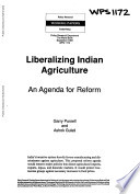 Liberalising Indian Agriculture