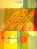 Qualitative Research Methods  Fourth Edition
