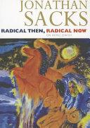 Radical Then  Radical Now