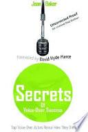 Secrets Of Voice Over Success Book PDF