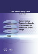 Human Factors Engineering Aspects of Instrumentation and Control System Design
