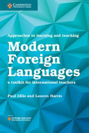 Books - New Approaches To Learning And Teaching Modern Foreign Languages | ISBN 9781108438483