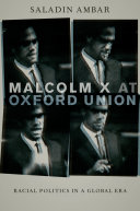 Pdf Malcolm X at Oxford Union