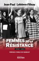 Pdf Femmes de la Résistance 1940-1945 Telecharger