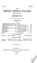 The Oriental Sporting Magazine