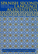 Spanish Second Language Acquisition