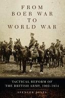 From Boer War to World War Pdf/ePub eBook