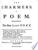 The Charmers  A Poem  Etc Book