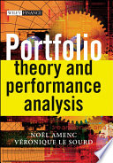 Portfolio Theory and Performance Analysis