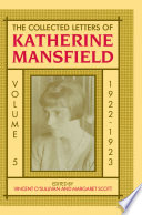 The Collected Letters Of Katherine Mansfield Book