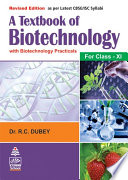 A Textbook Of Biotechnology For Class XI Book