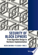 Security of Block Ciphers