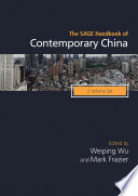 """""""The SAGE Handbook of Contemporary China"""" by Weiping Wu, Mark Frazier"""