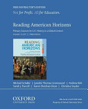 Reading American Horizons Book PDF
