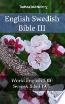 English Swedish Bible III