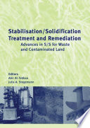 Stabilisation Solidification Treatment and Remediation