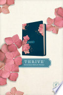 NLT Thrive Devotional Bible for Women  Hardcover