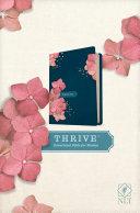 NLT Thrive Devotional Bible for Women  Hardcover