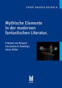 Pdf Mythische Elemente in der modernen fantastischen Literatur Telecharger
