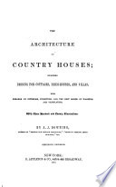 The Architecture of Country Houses