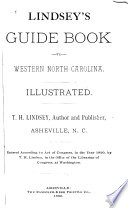 Lindsey S Guide Book To Western North Carolina