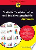 Öffnen Sie das Medium Statistik für Wirtschafts- und Sozialwissenschaftler für Dummies von Krickhahn, Thomas im Bibliothekskatalog