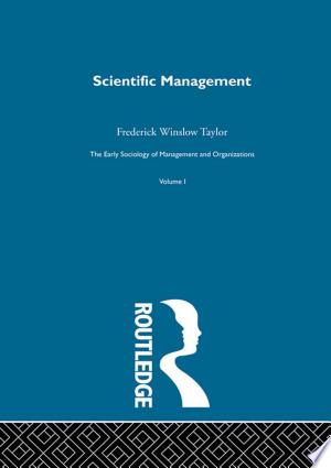 Download Scientific Management Free Books - Dlebooks.net